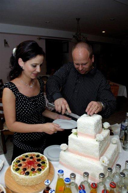 Ľudmila{{_AND_}}Štefan - torta