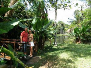 botanicka zahrada v Pamplemousses