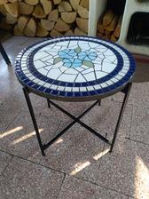 Stůl s mozaikou na přání ♥