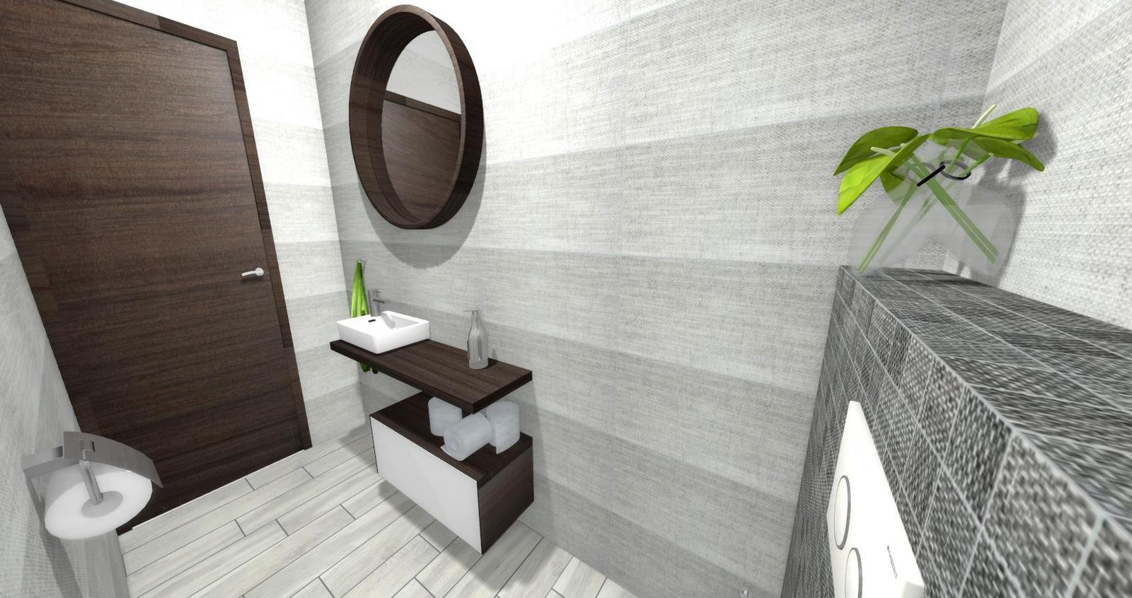 Návrh kúpeľne + WC - Obrázok č. 2