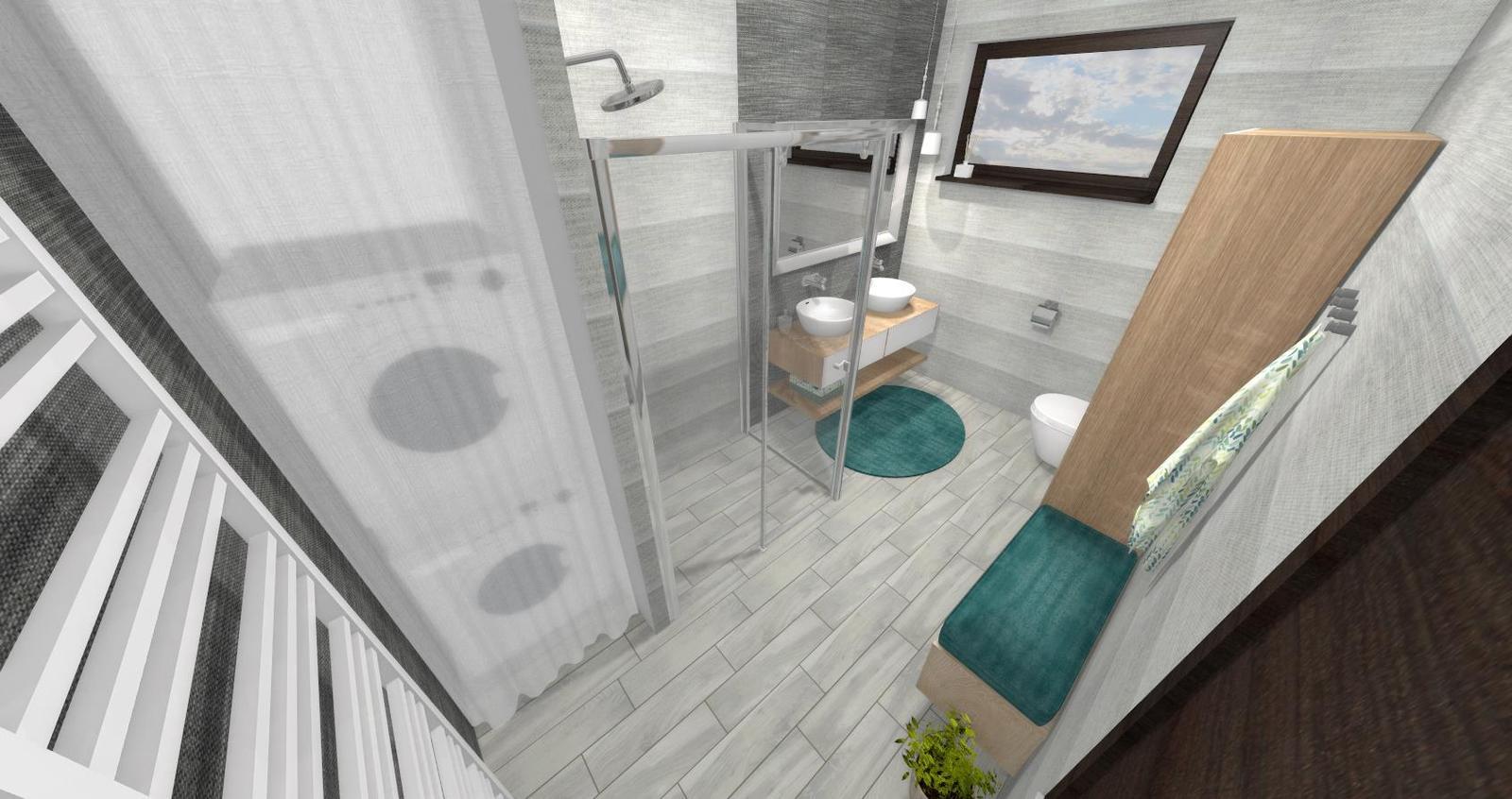 Návrh kúpeľne + WC - Obrázok č. 5