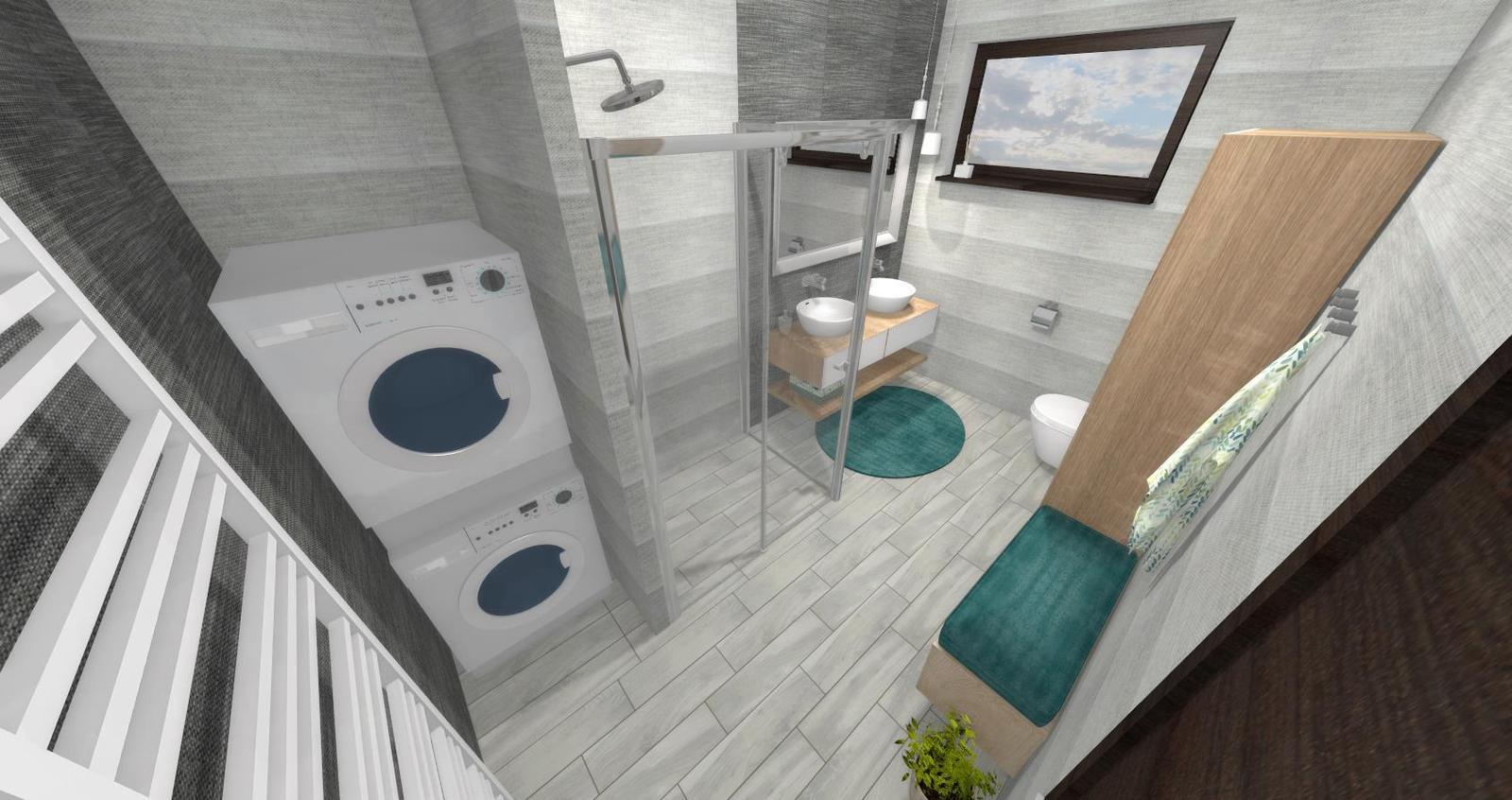 Návrh kúpeľne + WC - Obrázok č. 6