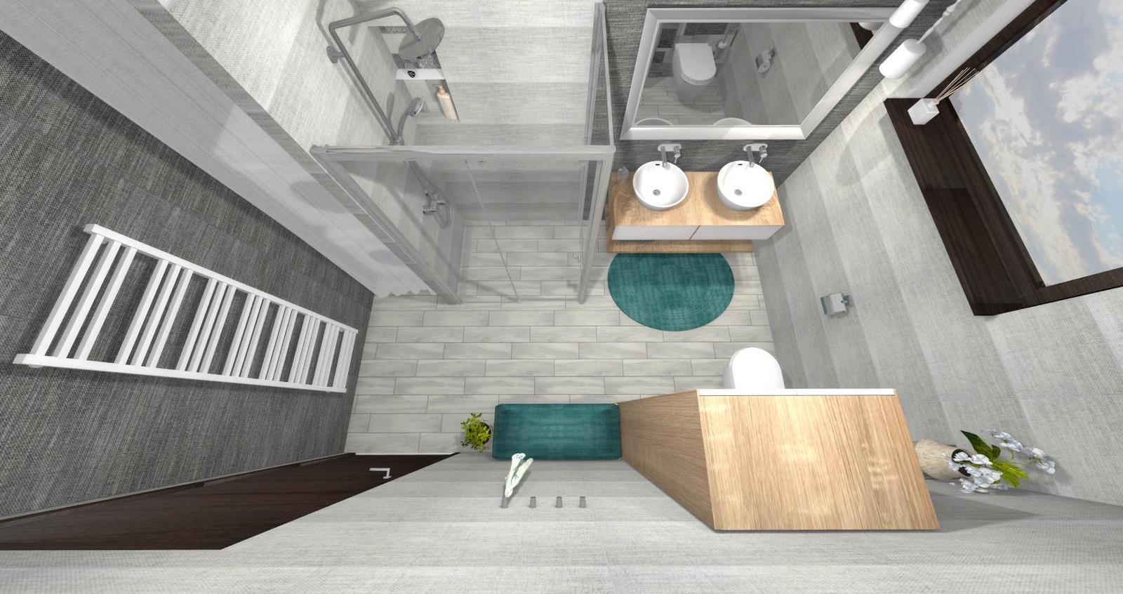 Návrh kúpeľne + WC - Obrázok č. 7