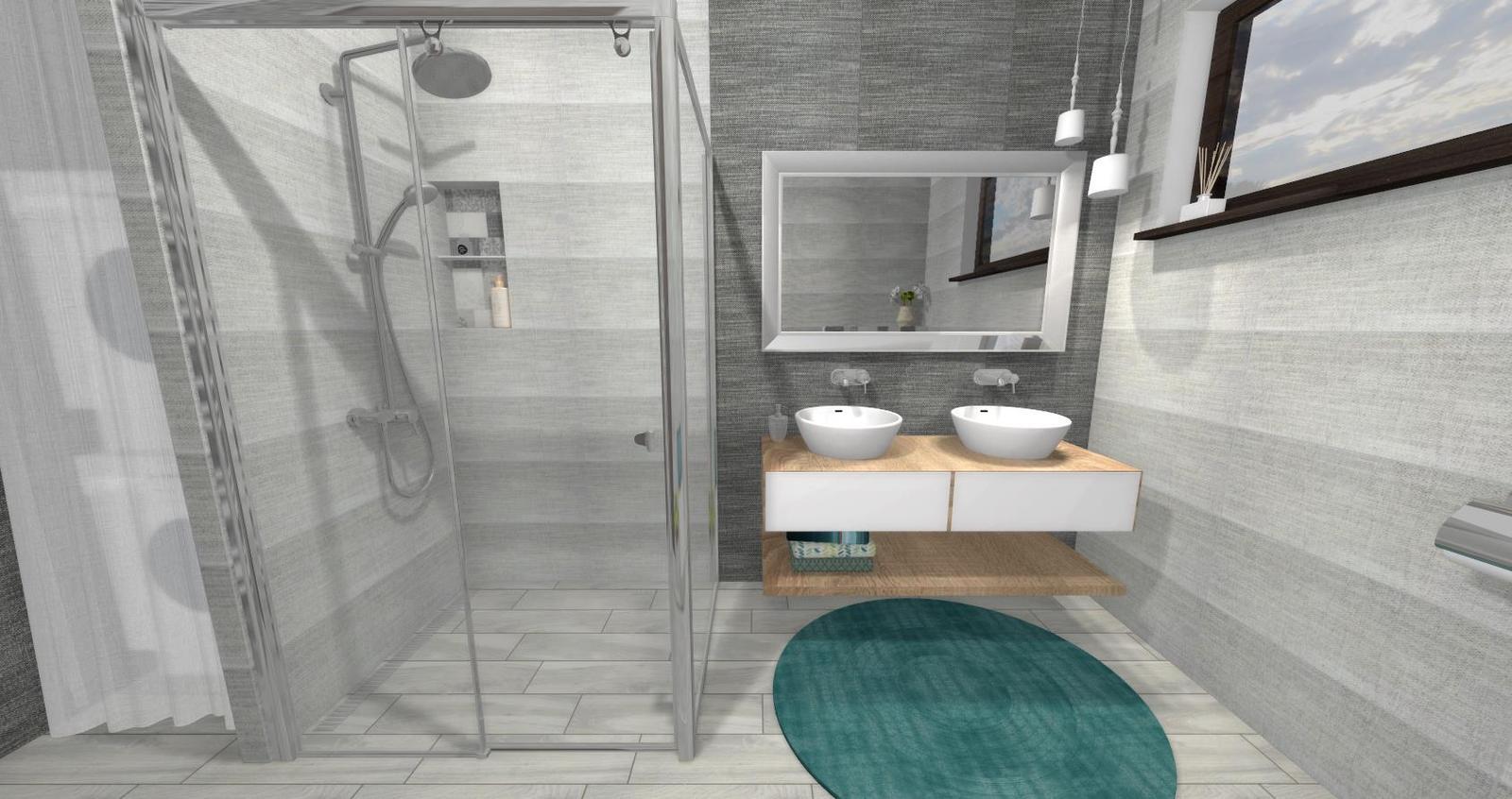 Návrh kúpeľne + WC - Obrázok č. 8