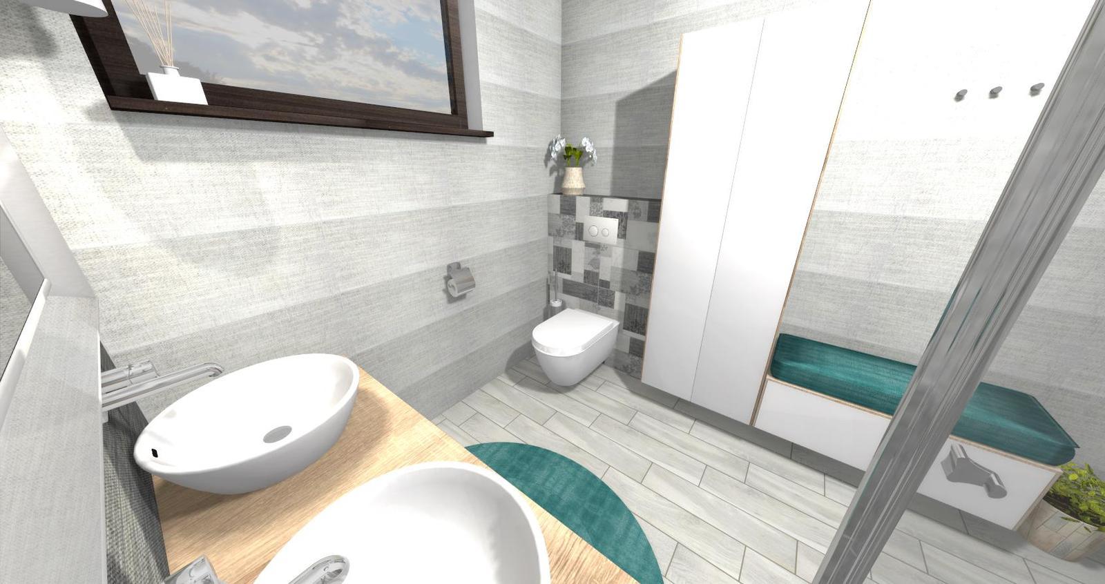 Návrh kúpeľne + WC - Obrázok č. 9