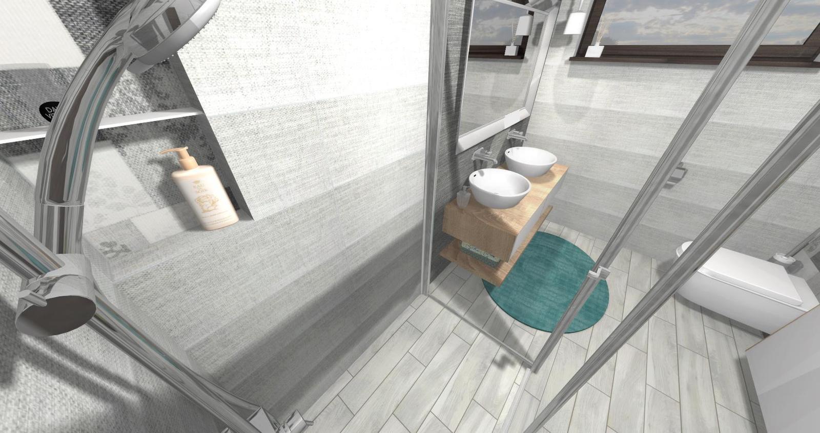 Návrh kúpeľne + WC - Obrázok č. 10