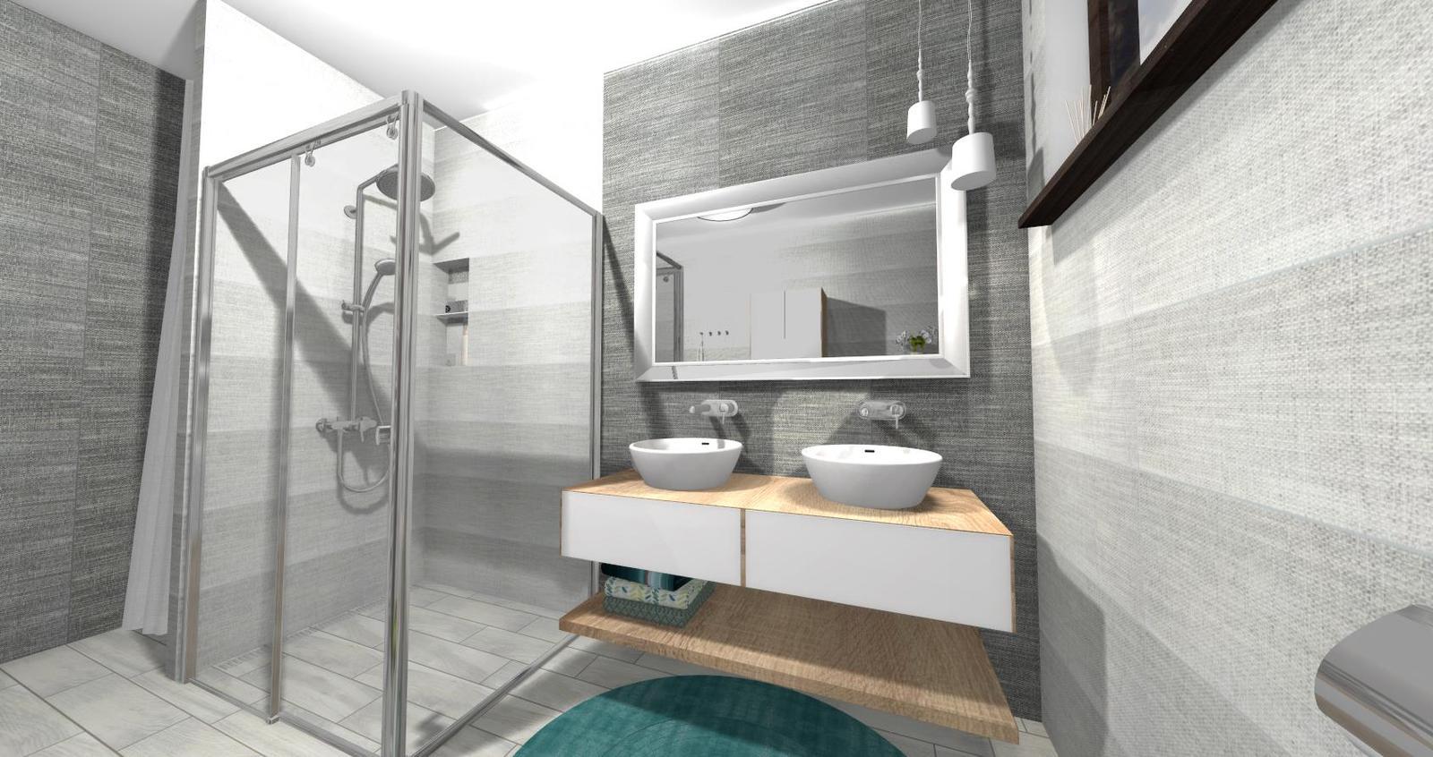 Návrh kúpeľne + WC - Obrázok č. 11