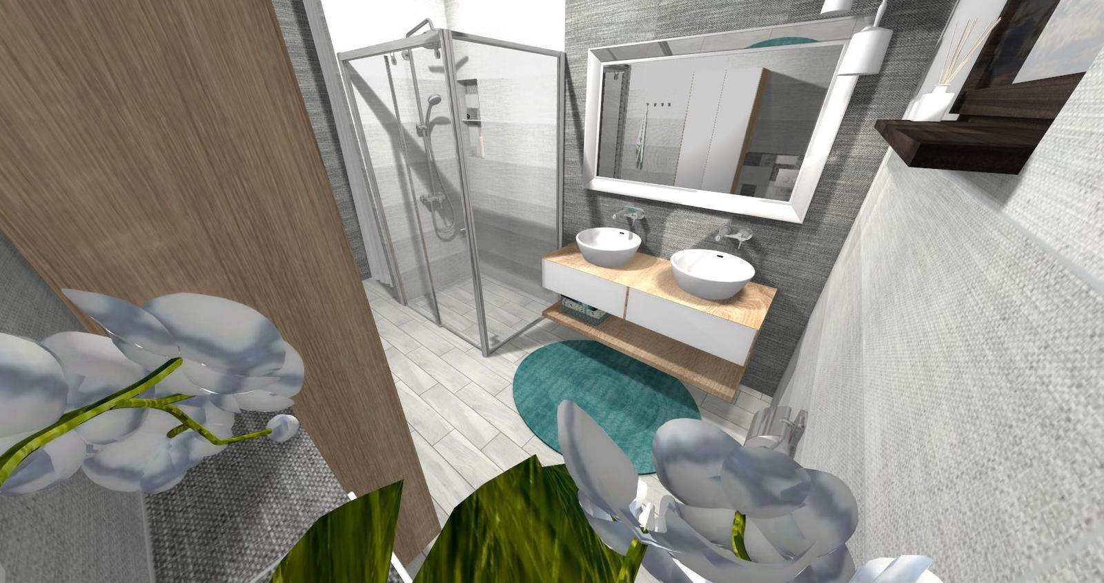 Návrh kúpeľne + WC - Obrázok č. 12