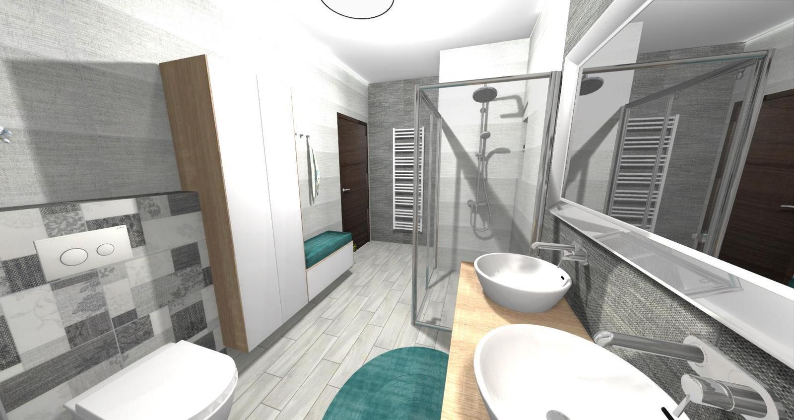 Návrh kúpeľne + WC - Obrázok č. 13