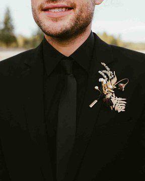 🖤Aj čierna patrí na svadbu - Obrázok č. 5