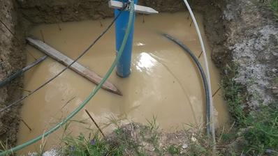vodarnicka zatopena... jeden lejak a 20 cm vody.. :(