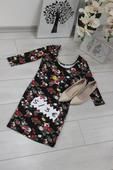 kvetinové šaty, S