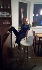 To bolo radosti z nových stoličiek 😄