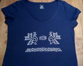 Maľované Čičmany na tričku 🌎