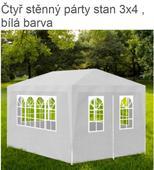 párty stan 3x4m,
