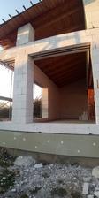 Budoucí obývací pokoj s jídelnou