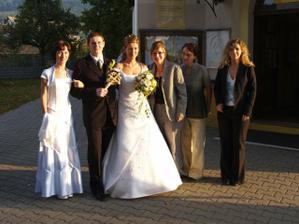 Spolužiačky zo školy-Anička, Aďka, Silvia a Marcelka