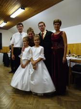 Sestra s manželom a deťmi