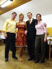 Naši svedkovia (Miškova sestra Katka a môj bratranec Ľuboš)