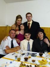 Sesternica Ivetka s rodinkou...