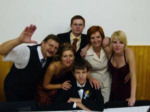 Miškova teta Janka s rodinkou