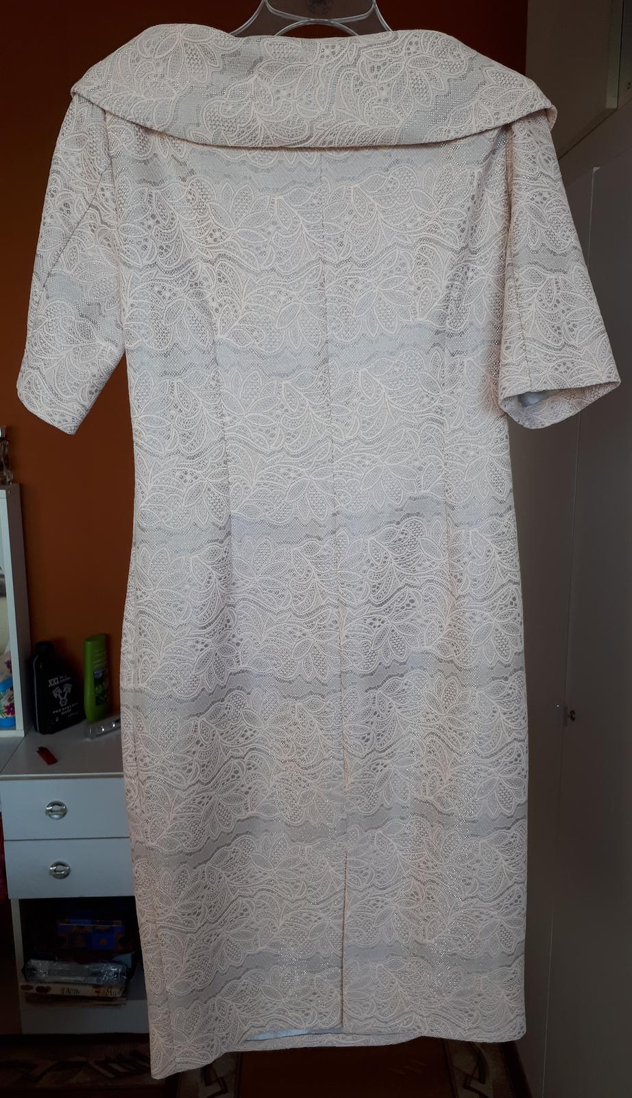 Čipkové šaty  - Obrázok č. 2