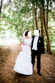 Čipkované svadobné šaty TAMARA, 42