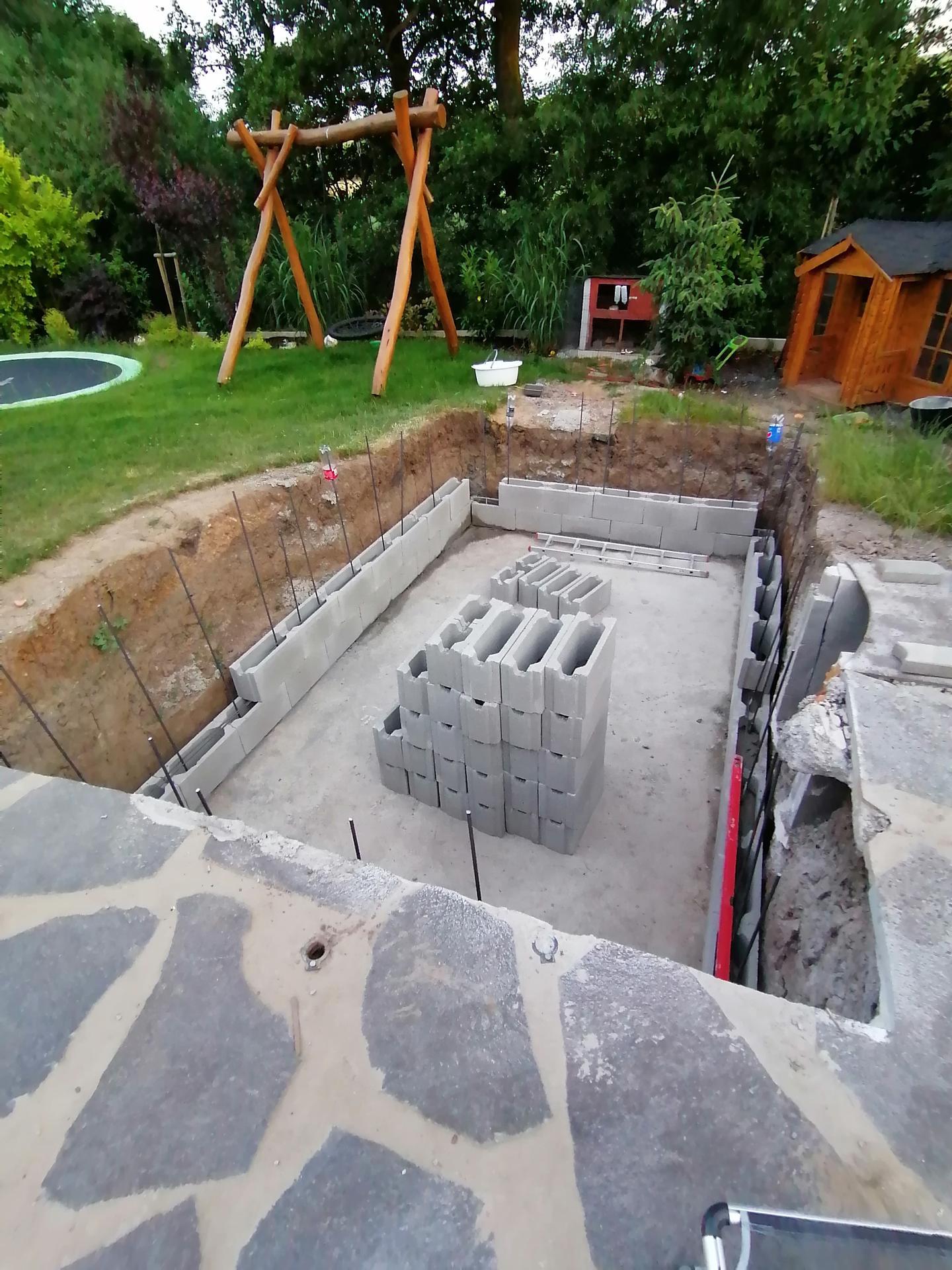 Betonový bazén - Obrázek č. 10