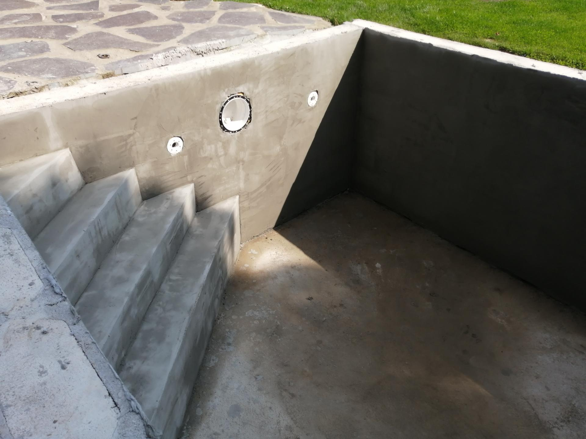 Betonový bazén - Obrázek č. 25