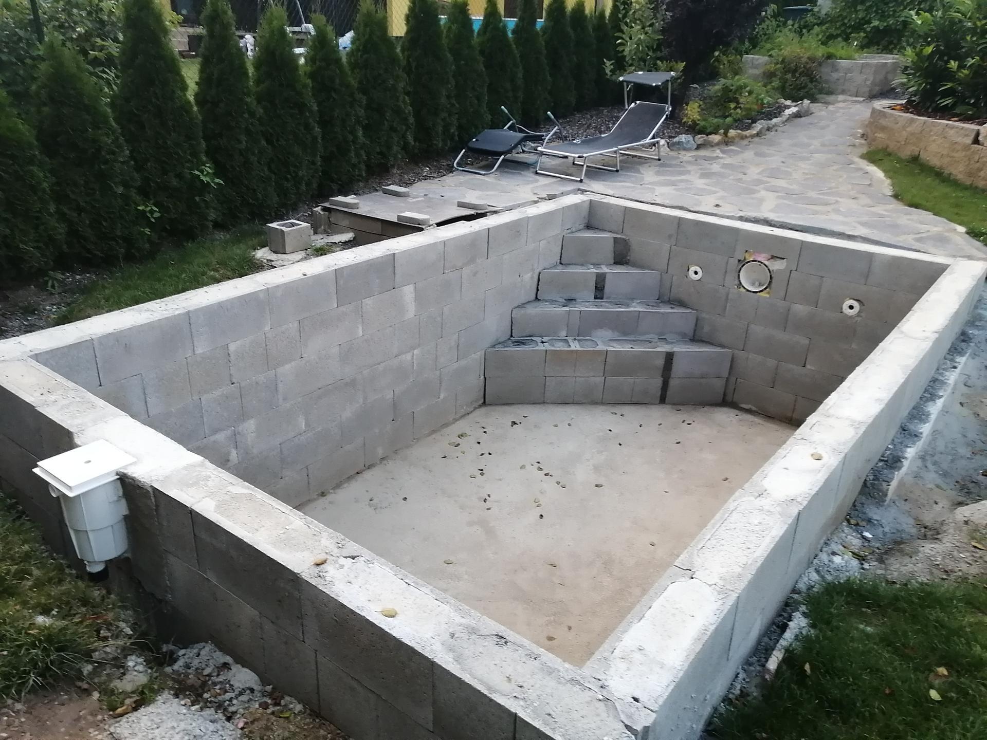 Betonový bazén - Obrázek č. 22