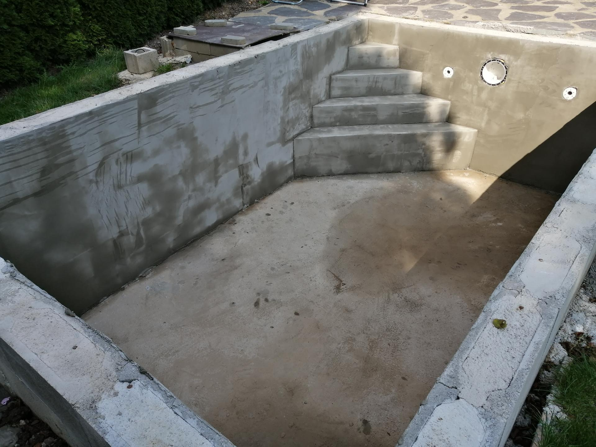 Betonový bazén - Obrázek č. 24