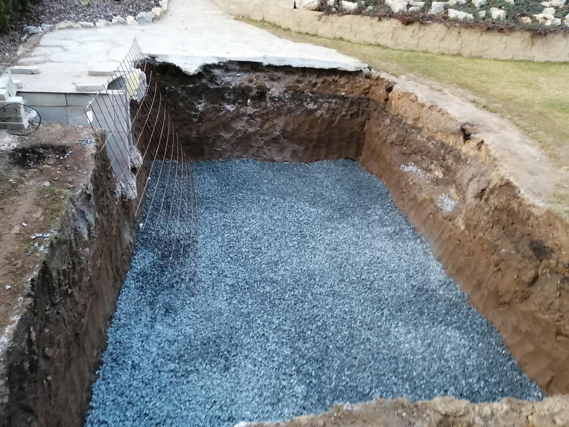 Betonový bazén - Obrázek č. 7