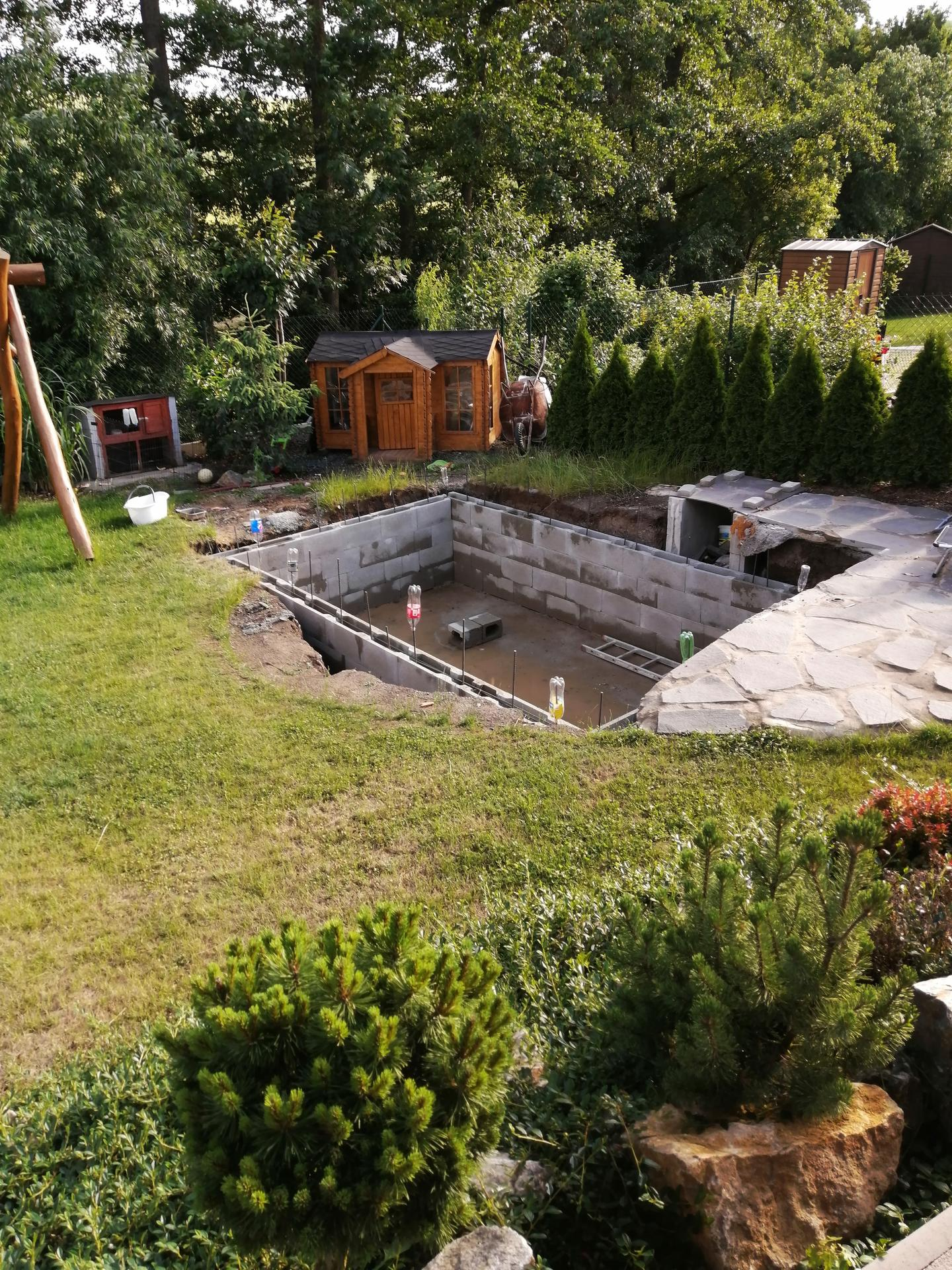 Betonový bazén - Obrázek č. 9
