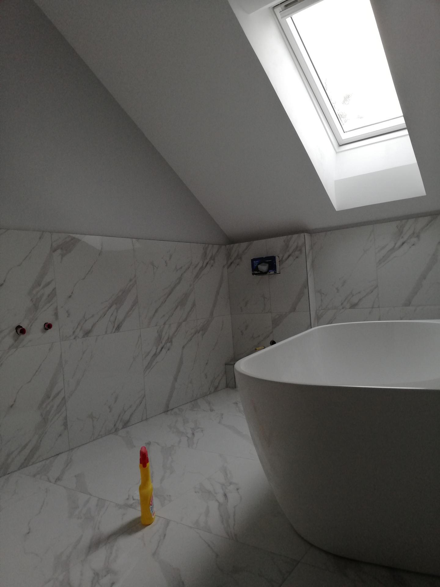 Koupelna těsně před dokončenim - Obrázek č. 3