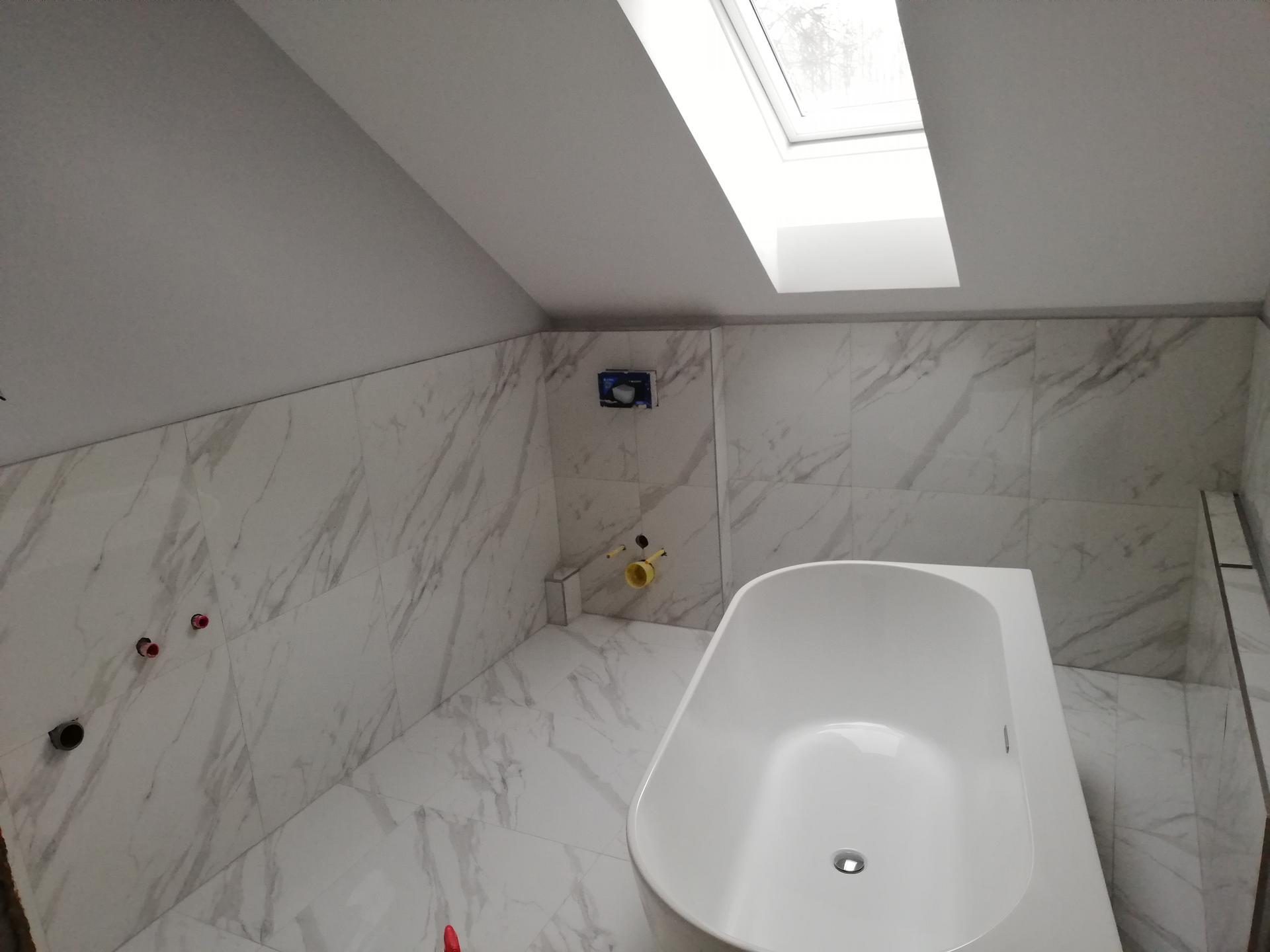 Koupelna těsně před dokončenim - Obrázek č. 4