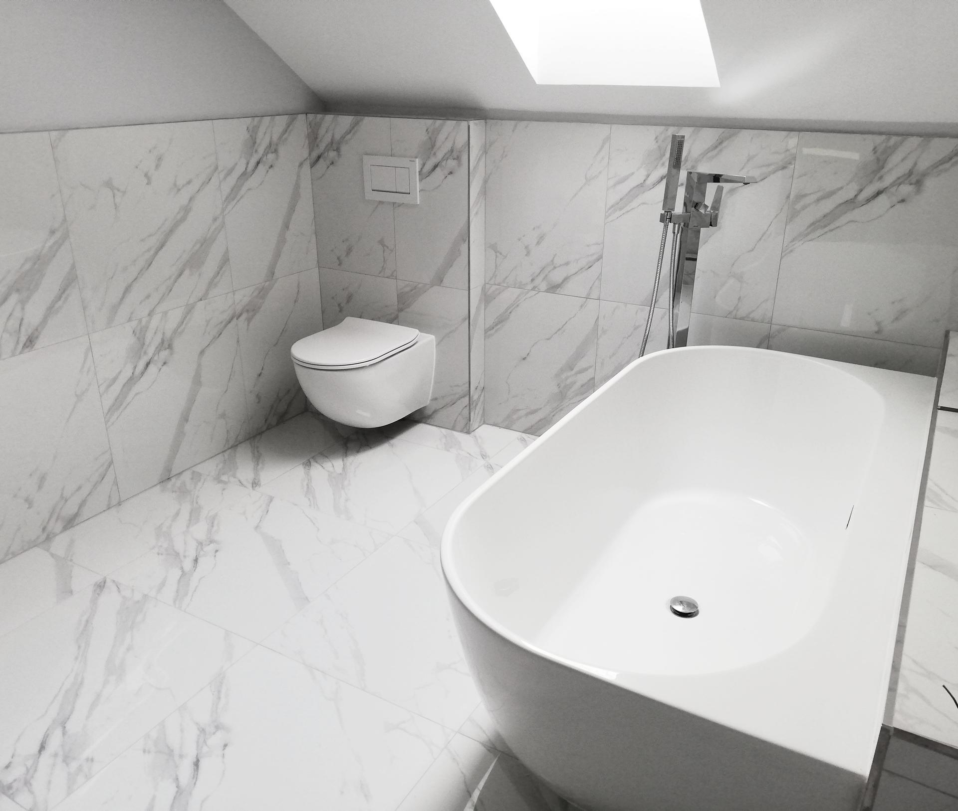 Koupelna těsně před dokončenim - Obrázek č. 2