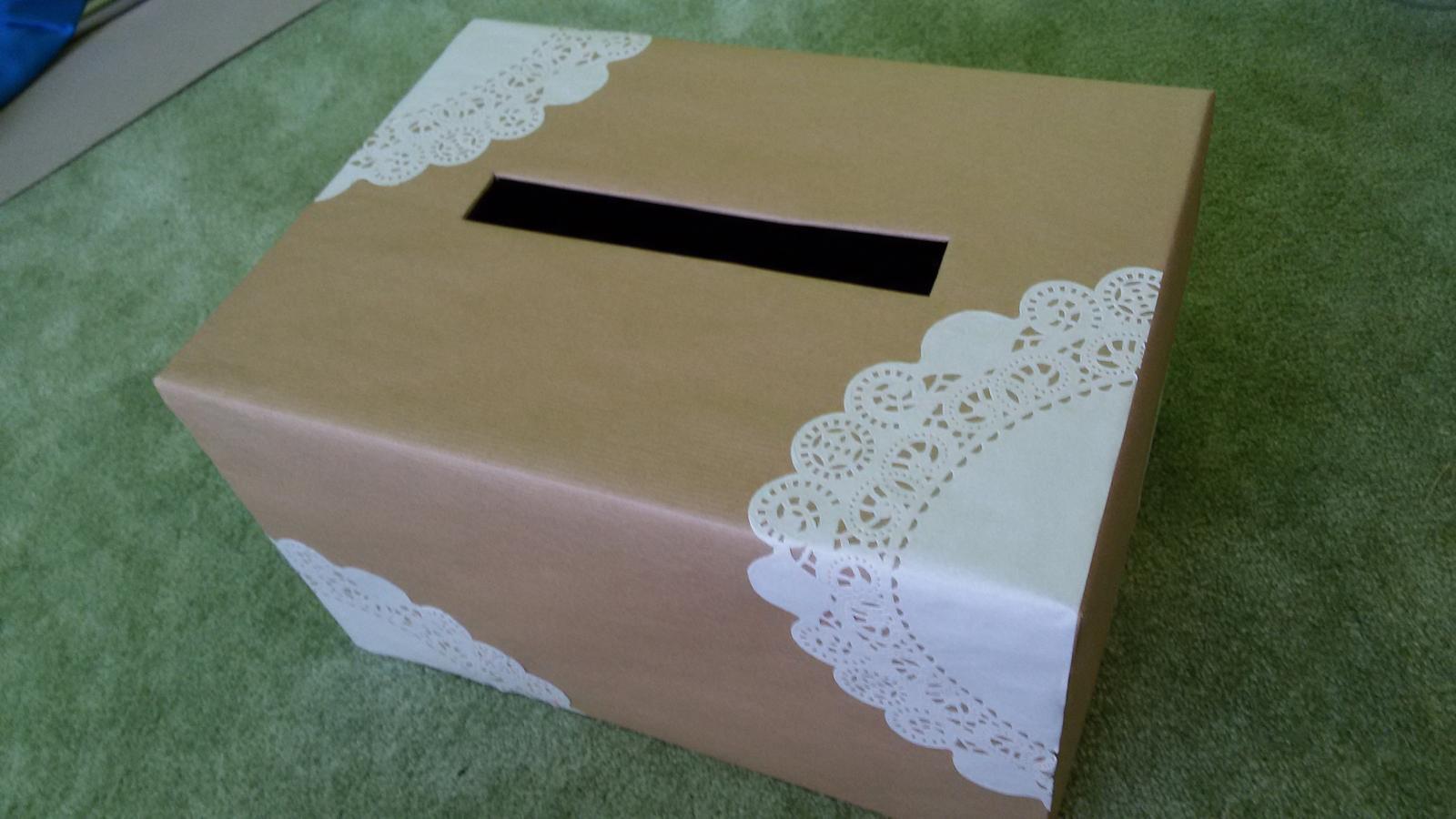 Krabice s otvorem na přání a finanční příspěvky - Obrázek č. 1