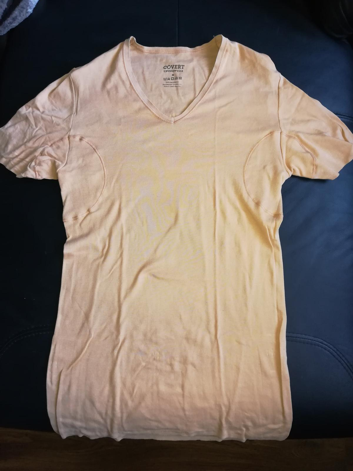 Neviditelne tričko s potitkami - Obrázok č. 2
