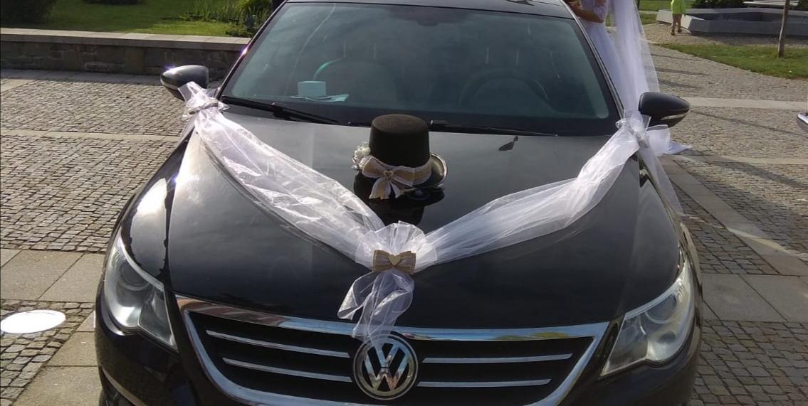 Rustikální výzdoba na auto ženicha a nevěsty  - Obrázek č. 2