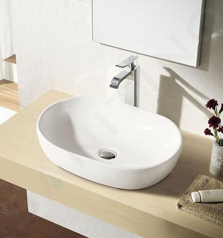 Volne stojace umyvadlo - 610 mm × 420 mm × 140 mm - Obrázok č. 1