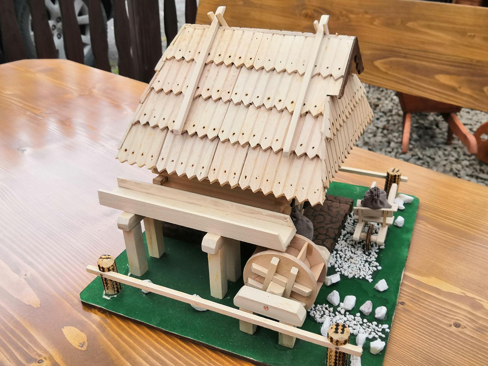 Drevený domček - Obrázok č. 1