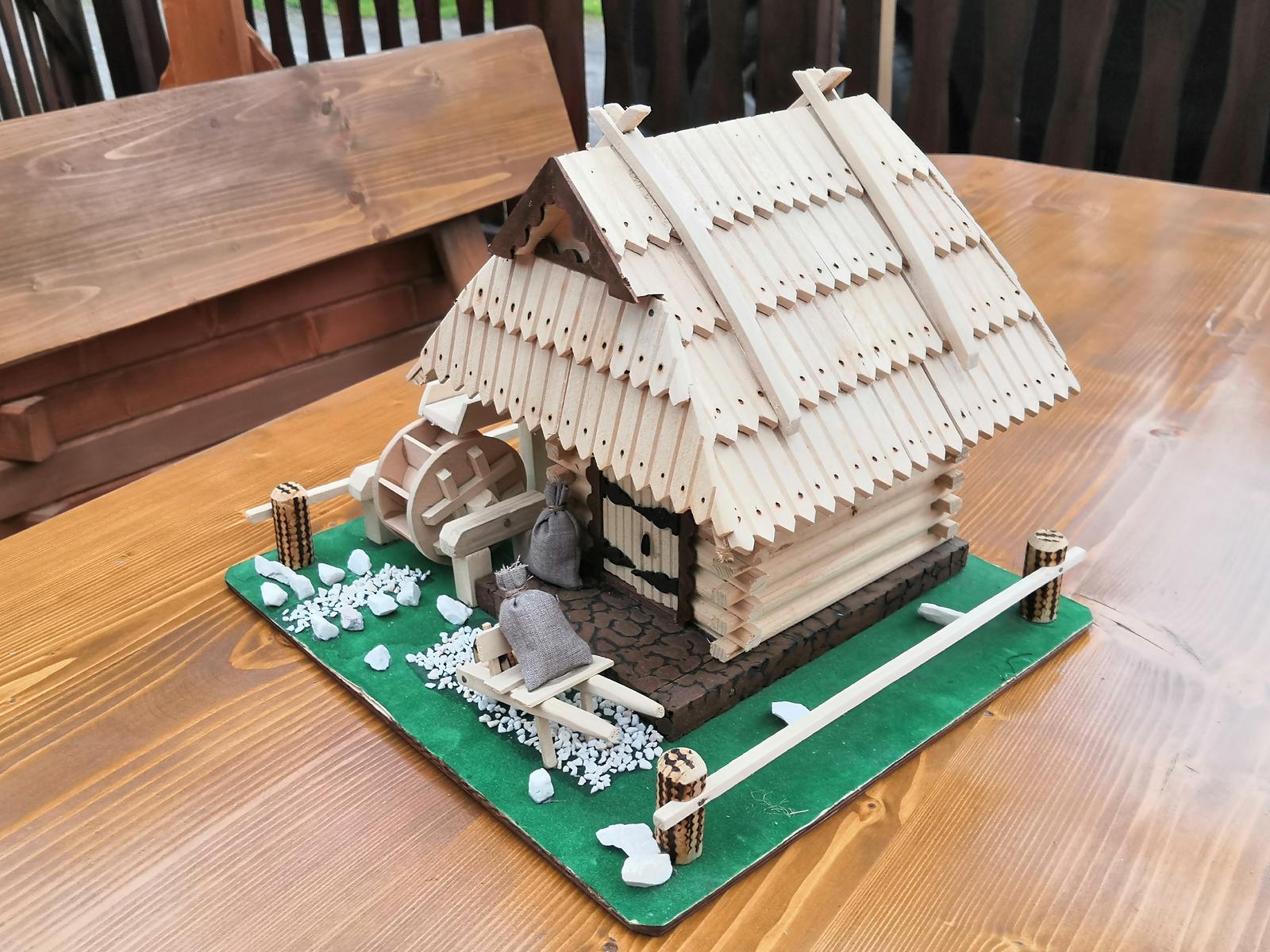 Drevený domček - Obrázok č. 3