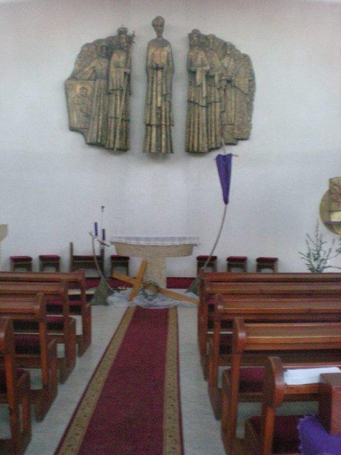 Radanka a Branko - kostol z vnutra
