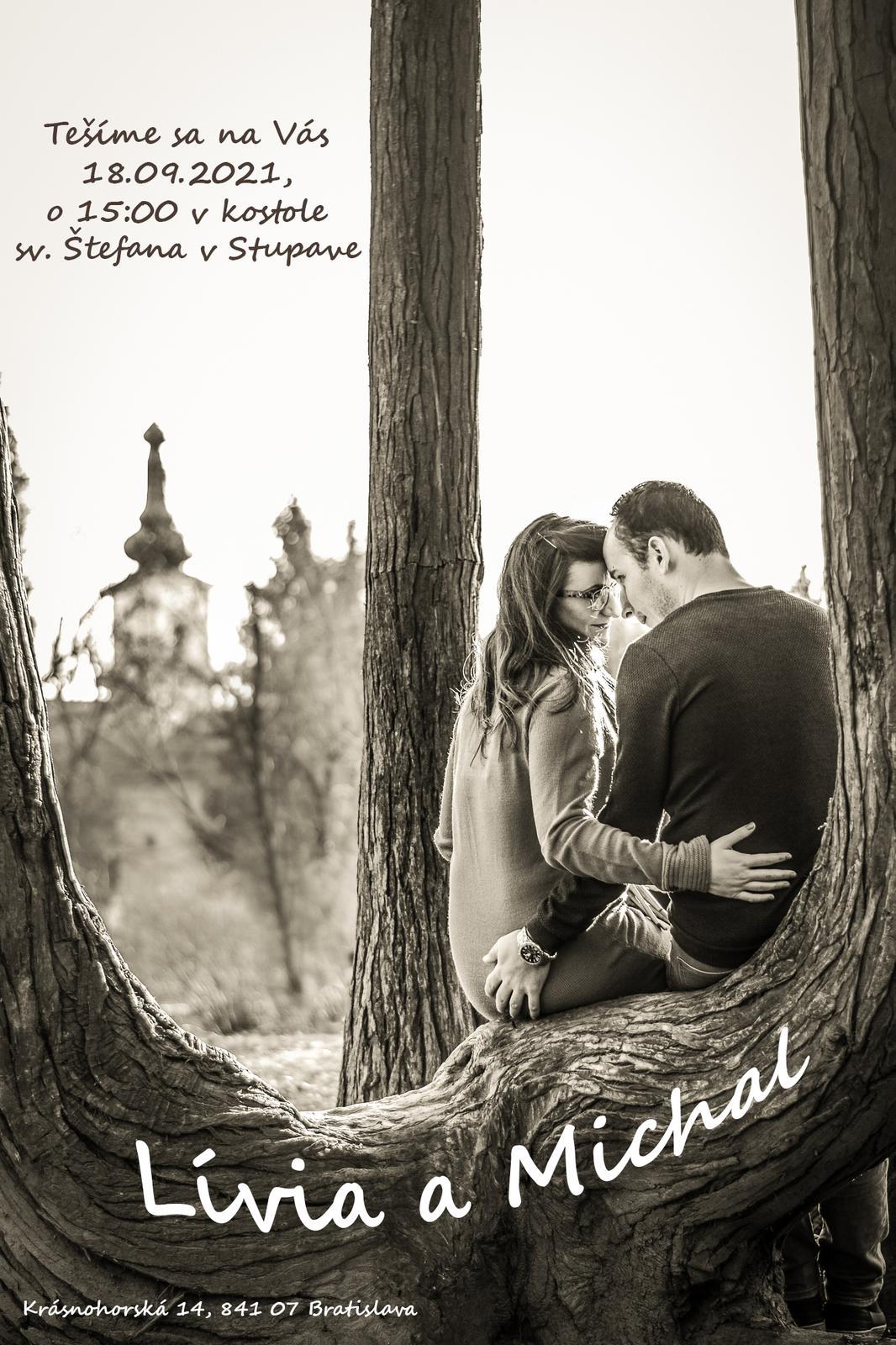 Svadobné oznámenie s Vašou fotkou - Obrázok č. 1