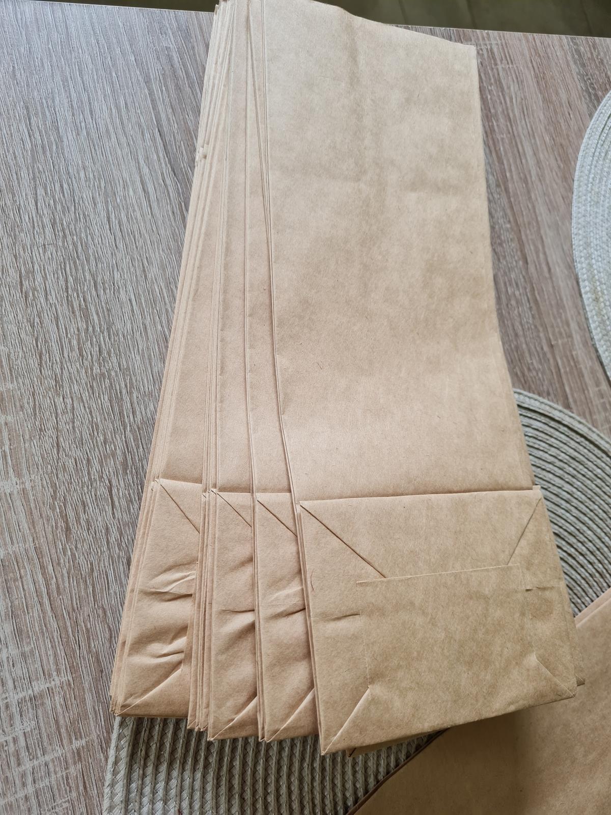 Papírová taška bez uch 120x95x325mm - Obrázek č. 1