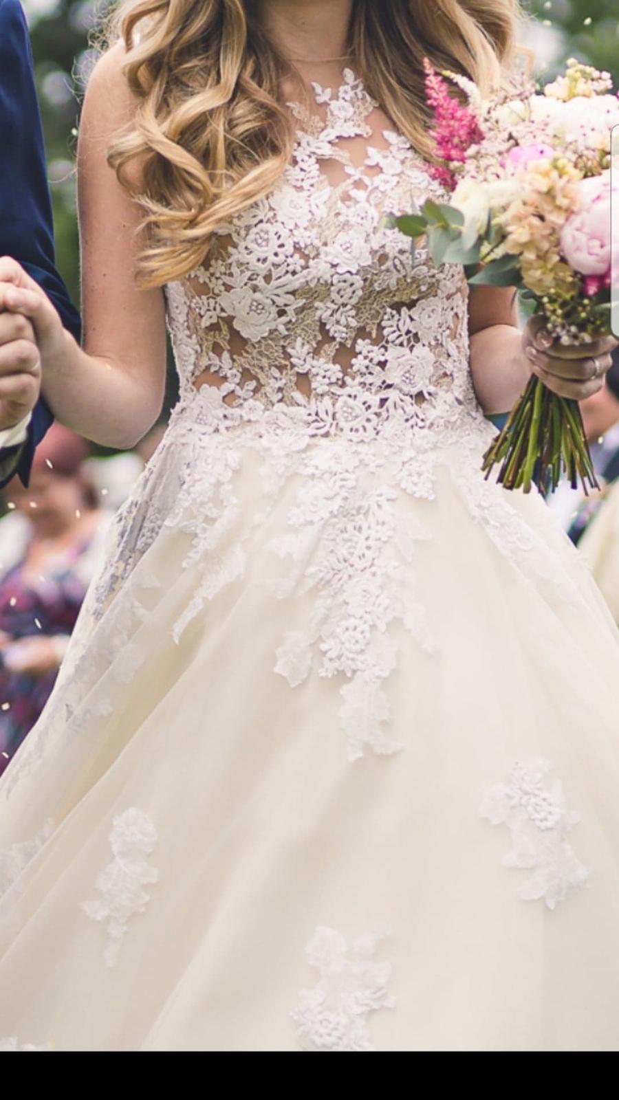 Svatební šaty Pronovias Ofelia 36 - Obrázek č. 1