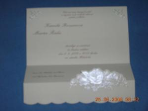 detail svatebního oznámení