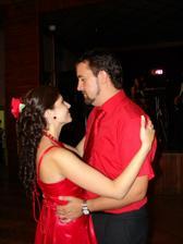 Posledný tanec novomanželov