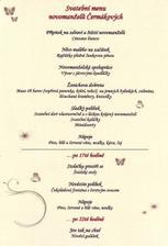 menu hotové
