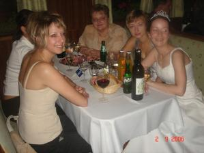 S kolegyňami (nevesta)